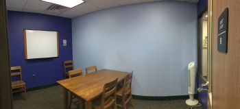 Panoramic image of the Quiet Study Room B.